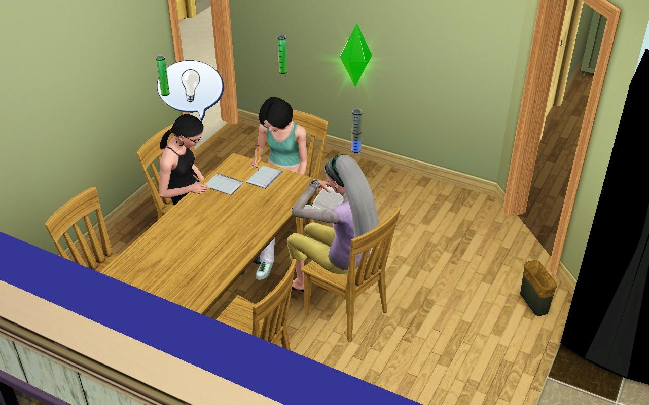 Tallinu girls studying